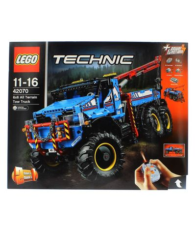 Lego-Technic-Camiao-Rebolque-Todo-Terremo-6-x-6