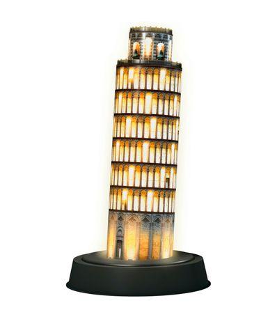 Puzzle-3D-Torre-de-Pisa-Night