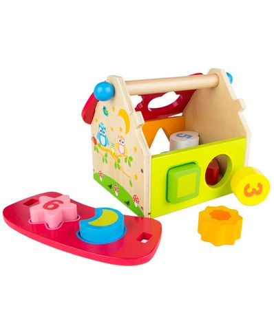 Casa-de-Madera-Infantil-con-Piezas-Encajables