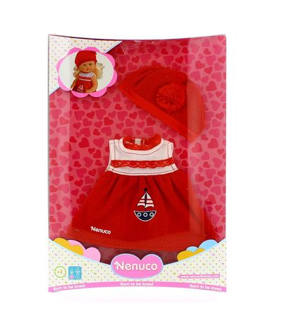 Nenuco-Red-Dress-Ropita-Casual