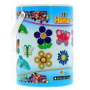 Hama-Beads-Bote-de-10000-con-3-Placas