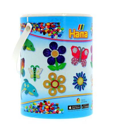 Hama-granulos-10000-barco-com-tres-placas-Pegs