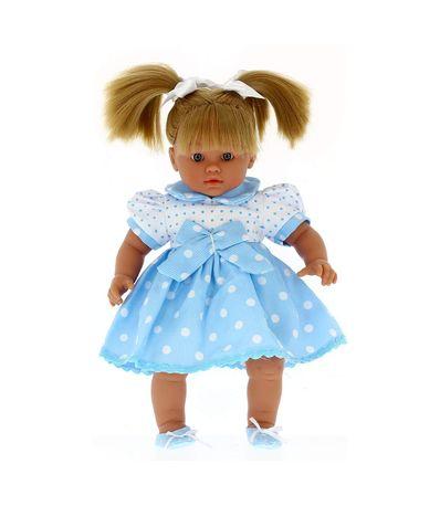 Lara-boneca-vestida-como-uma-mulher-Llorona-Azul