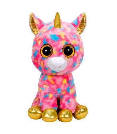 Beanie-Boo-s-Unicornio-Rosa-de-Peluche-XL
