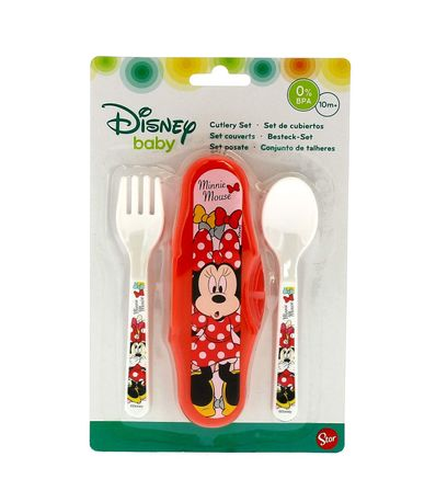 Set-cubiertos---Estuche-Minnie