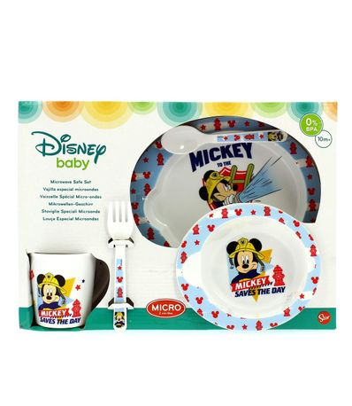 Vajilla-para-Microondas-5-Piezas-Mickey