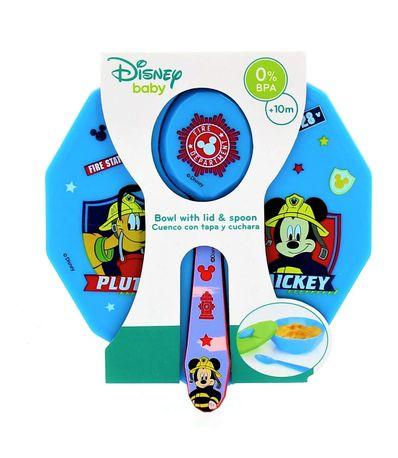 Tigela-com-tampa-e-colher-Mickey