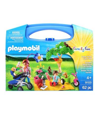 Playmobil-Family-Fun-Maletin-Picnic-Familiar
