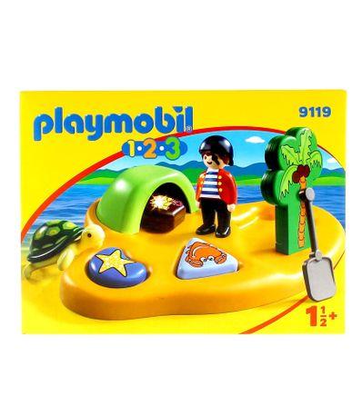 Playmobil-123-Isla-Pirata