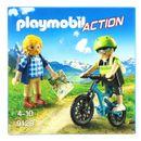 Playmobil-Action-Ciclista-y-Excursionista