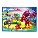 Playmobil-Fairies-Dragon-con-Bebe