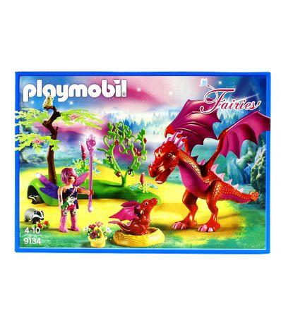 Playmobil-Fairies-Dragao-com-Bebe