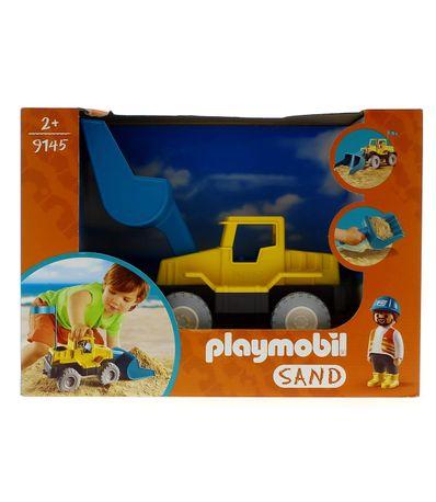 Playmobil-Sand-Escavadora