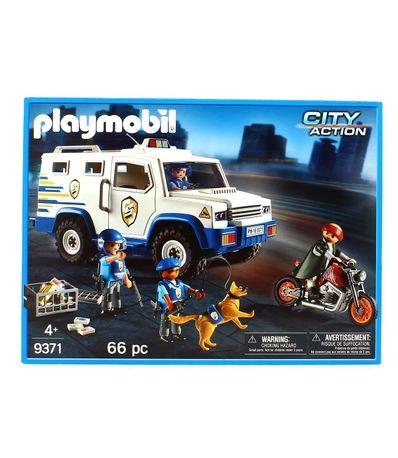 Playmobil-City-Action-Vehiculo-Blindado