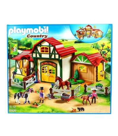 Playmobil-Country-Granja-de-Caballos