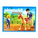 Playmobil-Country-Entrenador-con-Caballo