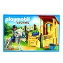 Playmobil-Country-Cavalo-Appaloosa-com-Estabulo