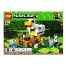 Lego-Minecraft-El-Gallinero
