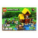 Lego-Minecraft-Cabaña-de-la-Granja