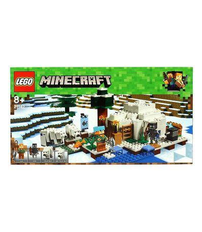 Lego-Minecraft-El-Iglu-Polar