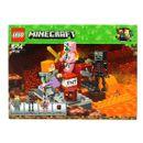 Lego-Minecraft-combate-no-Inferno