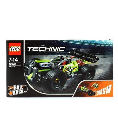Lego-Technic-Vehiculo-¡Golpea-