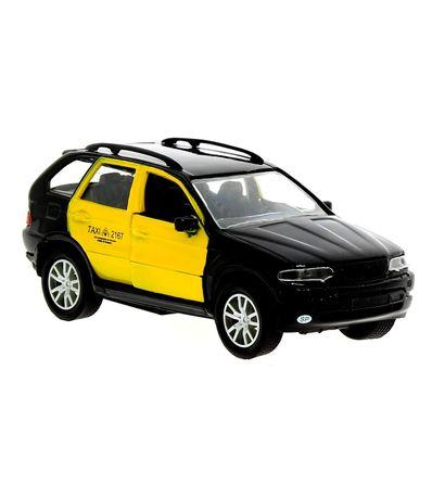 Coche-Taxi-miniatura-a-Escala-1-43