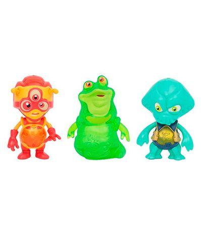 Exogini-Pack-3-Aliens-con-Luis-le-Slug