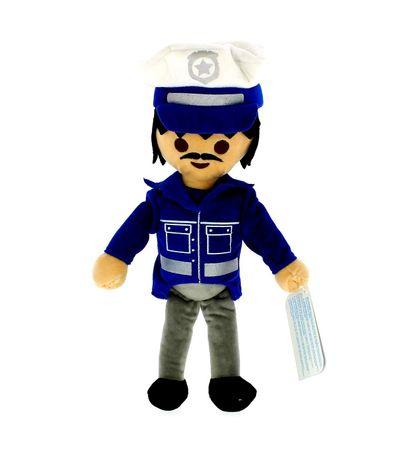 Playmobil-Peluche-Policia-30-cm