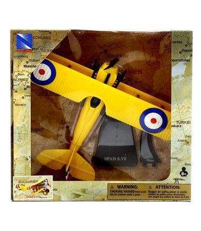 Avion-Bombardero-Spad-SVII-con-peana-a-Escala-1-48