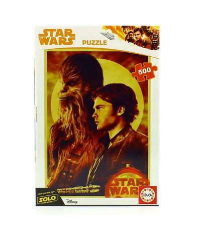 Star-Wars-Puzzle-Han-Solo-2018-500-Piezas