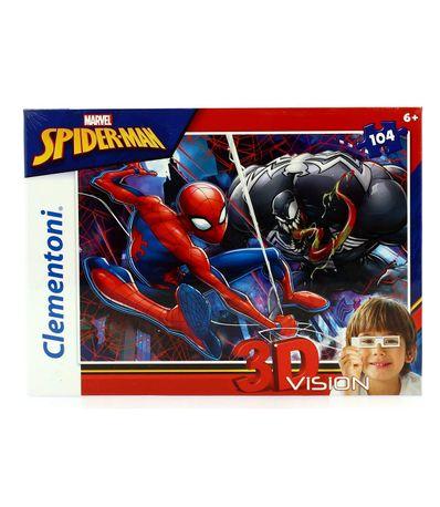 Spiderman-Puzzle-104-Piezas-con-Gafas-3D