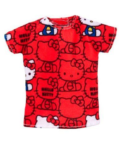 Barbie-Moda-T-Shirt-Hello-Kitty-Vermelha