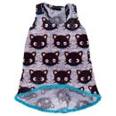 Barbie-Moda-Camiseta-Hello-Kitty-Chococat