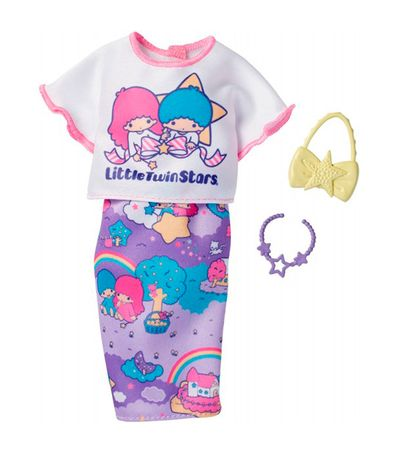 Barbie-Look-Completo-Hello-Kitty-Little-Twin-Stars