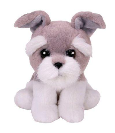 Beanie-Boo-s-Perro-Gris-de-Peluche-de-15-cm