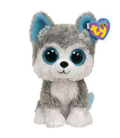 Beanie-Boo-s-Husky-de-Peluche-de-15-cm
