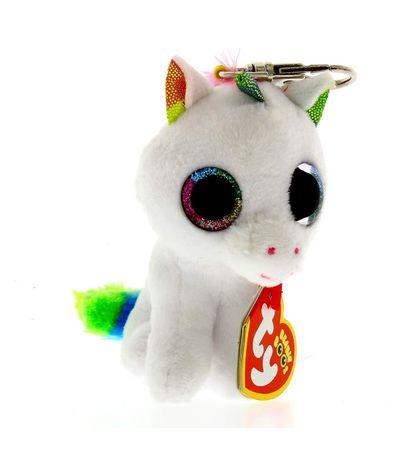Beanie-Boo-s-Llavero-Unicornio-de-Peluche