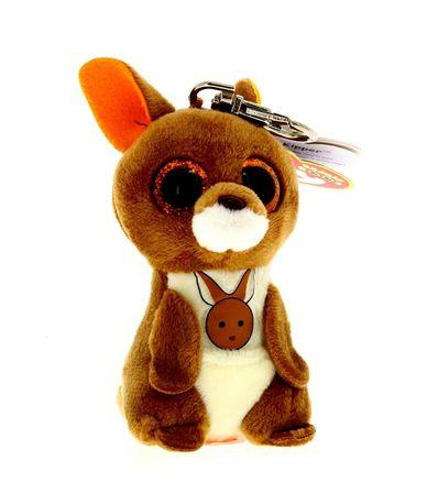 Beanie-Boo-s-Porta-chaves-Canguro-de-Peluche