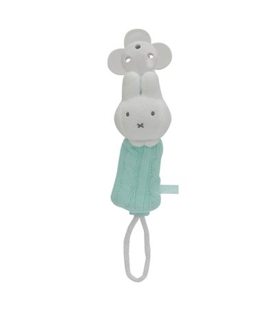 Miffy-Mint-Pacifier-Chain
