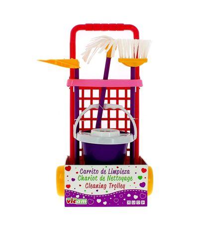 Carrito-de-Limpieza-Infantil-Lila
