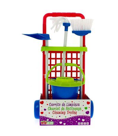 Carrito-de-Limpieza-Infantil-Azul