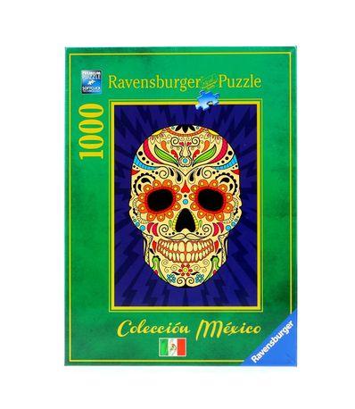 Puzzle-Calavera-Mexicana-de-1000-Piezas