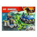 Lego-Juniors-Jurassic-World-Camion-de-Rescate-del-Raptor