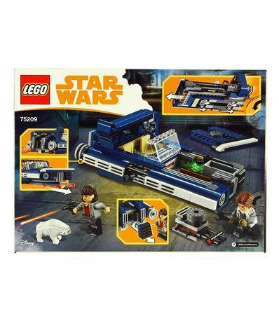 Lego-Star-Wars-Speeder-Terrestre-de-Han-Solo