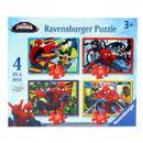 Spiderman-Pack-de-4-Puzzles