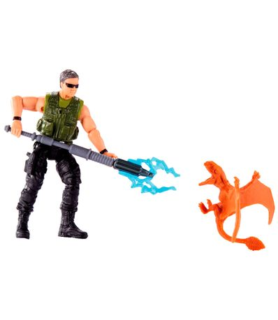 Jurassic-World-Figura-Mercenario---Dimorfodon