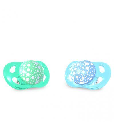 Pack-2-Chupetes-de-Silicona-0-6-Meses-Azul-Verde