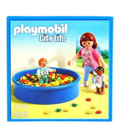 Playmobil-City-Life-Piscina-de-Bolas