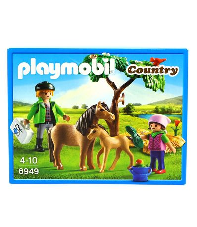Playmobil-Country-Veterinario-con-Poni